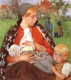Madonna of the Fields, Gari Melchers